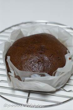 黒糖蒸しパンホール