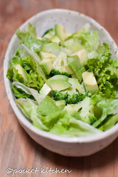 緑緑サラダ