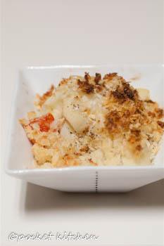 カリフラワートマトパン粉