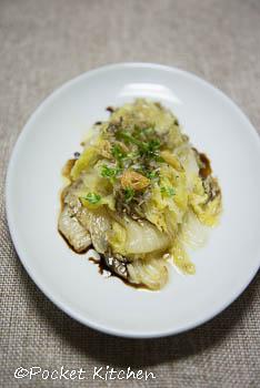 白菜のグリルサラダ